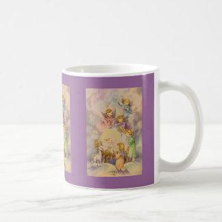 Engelen met Baby Jesus Koffiemok