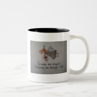 Engelen Tweekleurige Koffiemok