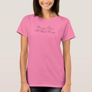 engelen vleugels telkens als een Klok t-shirtDames T Shirt
