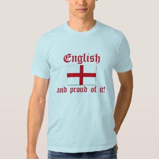 Engels en Trots van het! Tshirts