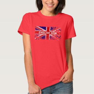 Engels Mamma + De Vlag van Union Jack van de Verf