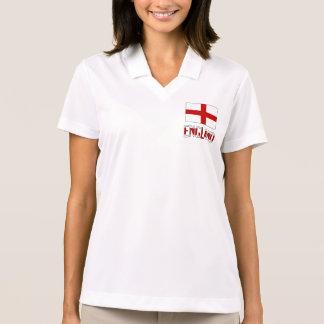 Engels Vlag en Engeland Polo T-shirt