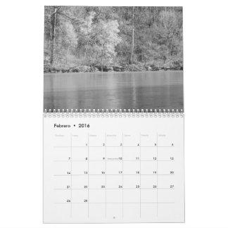 Engelse blancoy zwarte van Calendario fotos DE Kalender