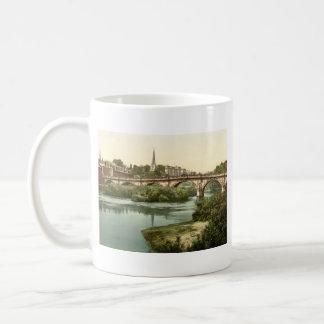 Engelse Brug, Shrewsbury, Shropshire, Engeland Koffiemok