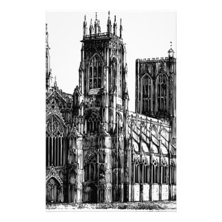Engelse Gotische kerk Briefpapier