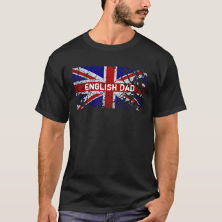 Engelse Papa +De Vlag van Union Jack van de Verf