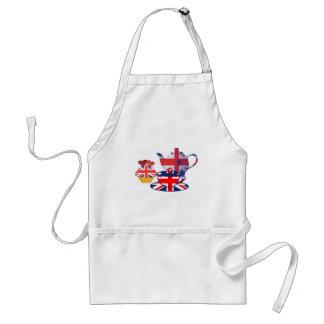 Engelse thee-Tijd, de Giften van de Kunst van Unio Standaard Schort