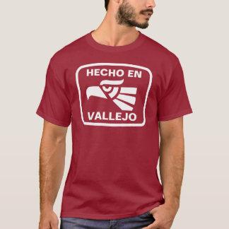 Engelse Vallejo gepersonaliseerde T Shirt