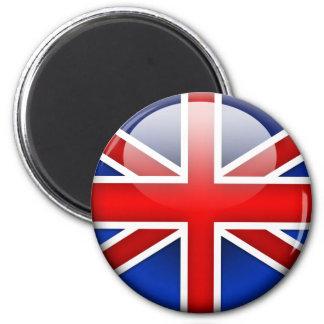 Engelse Vlag 2.0 Ronde Magneet 5,7 Cm