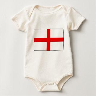 Engelse vlag baby shirt