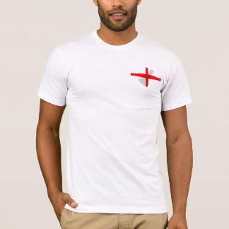 Engelse Vlag met het Overhemd van het T-shirt van