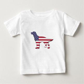 "Engelse Zetter - ""Amerikaanse Vlag "" Baby T Shirts"