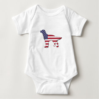 "Engelse Zetter - ""Amerikaanse Vlag "" Romper"