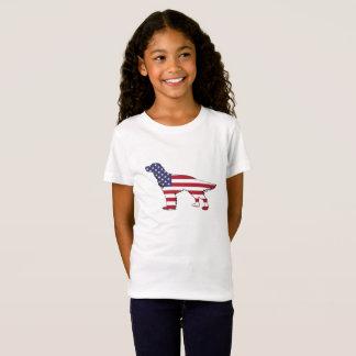"Engelse Zetter - ""Amerikaanse Vlag "" T Shirt"