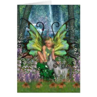 Engelwortel - de Kunst van de Fee met Bos Briefkaarten 0