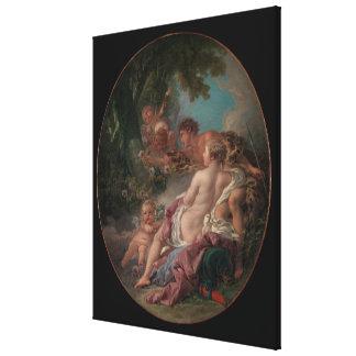 Engelwortel en Medoro Canvas Afdruk