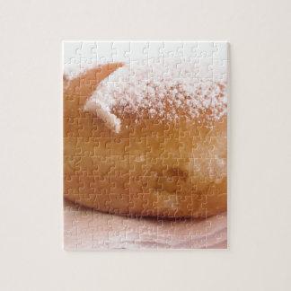 Enige Krapfen (Italiaanse doughnut) Legpuzzel