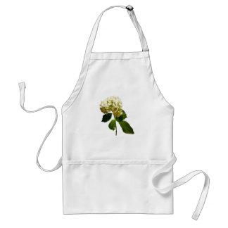 Enige Witte Hydrangea hortensia Standaard Schort