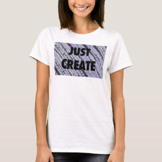Enkel Creëer T Shirt