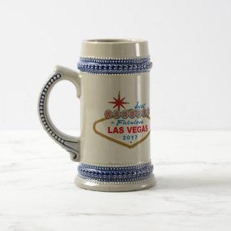 Enkel Gehuwd in Fabelachtig Las Vegas 2017 (Teken) Bierpul
