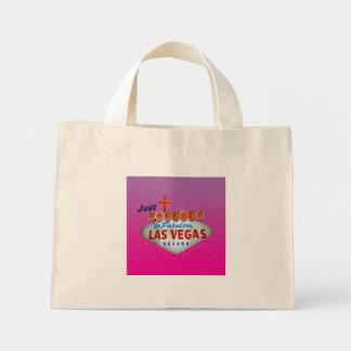Enkel Gehuwd in het Canvas tas van Las Vegas