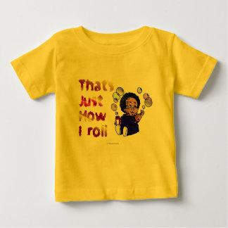 Enkel hoe ik rol baby t shirts