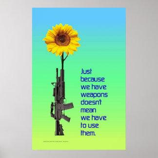 Enkel omdat wij Wapens… Poster