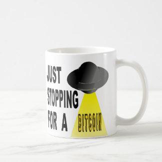 Enkel Ophoudend voor een Bitcoin Koffiemok