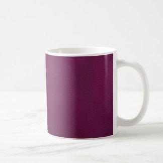 enkel paars koffiemok