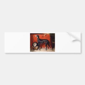 Eos, een Favoriete Windhond van Prins Albert Bumpersticker