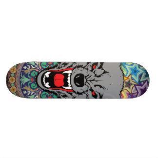 Epische Wolf 18,1 Cm Old School Skateboard Deck