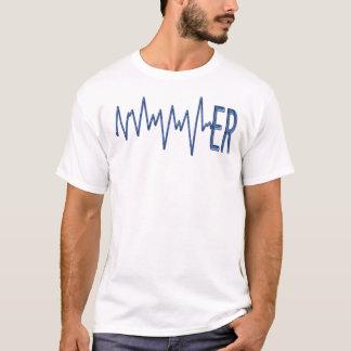 ER - de T-shirt van het electrocardiogram
