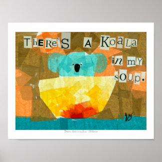 Er is een Koala in Mijn Soep Poster