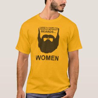 Er is een naam voor mensen zonder baarden… VROUWEN T Shirt