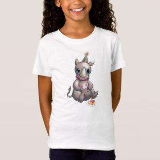 Er is een Nieuwe Rinoceros in de T-shirt van de
