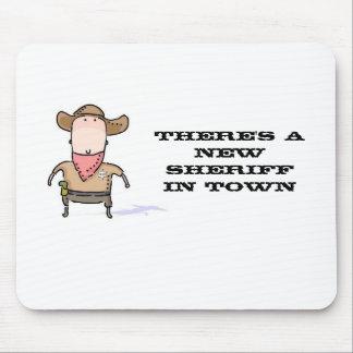 Er is een Nieuwe Sheriff in Stad Muismat