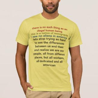 er is geen dergelijk ding zoals een onwettig t shirt
