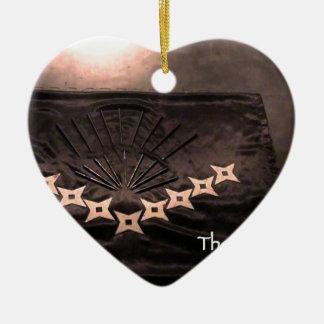 er is geen ongevallen slechts unrealized doel keramisch hart ornament
