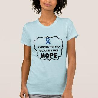 Er is geen plaats zoals de t-shirt van de