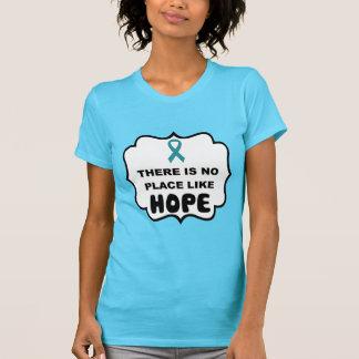 Er is geen plaats zoals ovariale kankert-shirt van t shirt