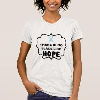 Er is geen plaats zoals prostate kankert-shirt van t shirt