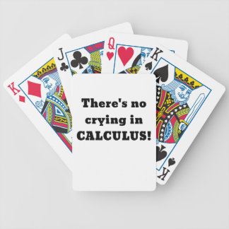 Er zijn Geen het Schreeuwen in Rekening Bicycle Speelkaarten