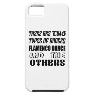 Er zijn twee soorten de dans van het Flamenco van Tough iPhone 5 Hoesje