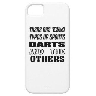 Er zijn twee soorten sportenPijltjes en anderen Barely There iPhone 5 Hoesje