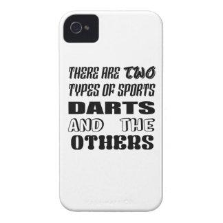 Er zijn twee soorten sportenPijltjes en anderen iPhone 4 Hoesje