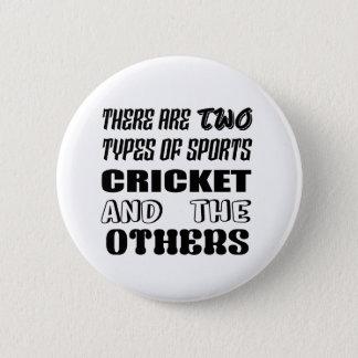 Er zijn twee soorten sportenveenmol en anderen ronde button 5,7 cm