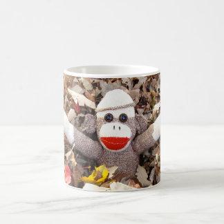 Ernie de Bladeren van de Herfst van de Aap van de Koffiemok