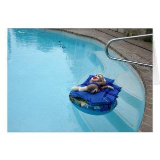 Ernie de Kaart van de Nota van het Zwembad van de
