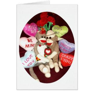 Ernie de Kaart van de Valentijnsdag van de Liefde