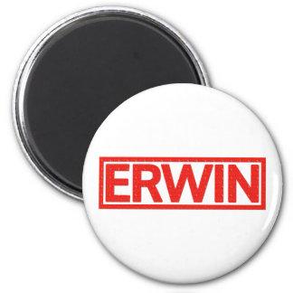 Erwin Stamp Ronde Magneet 5,7 Cm
